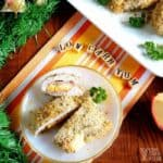 low carb chicken cordon bleu