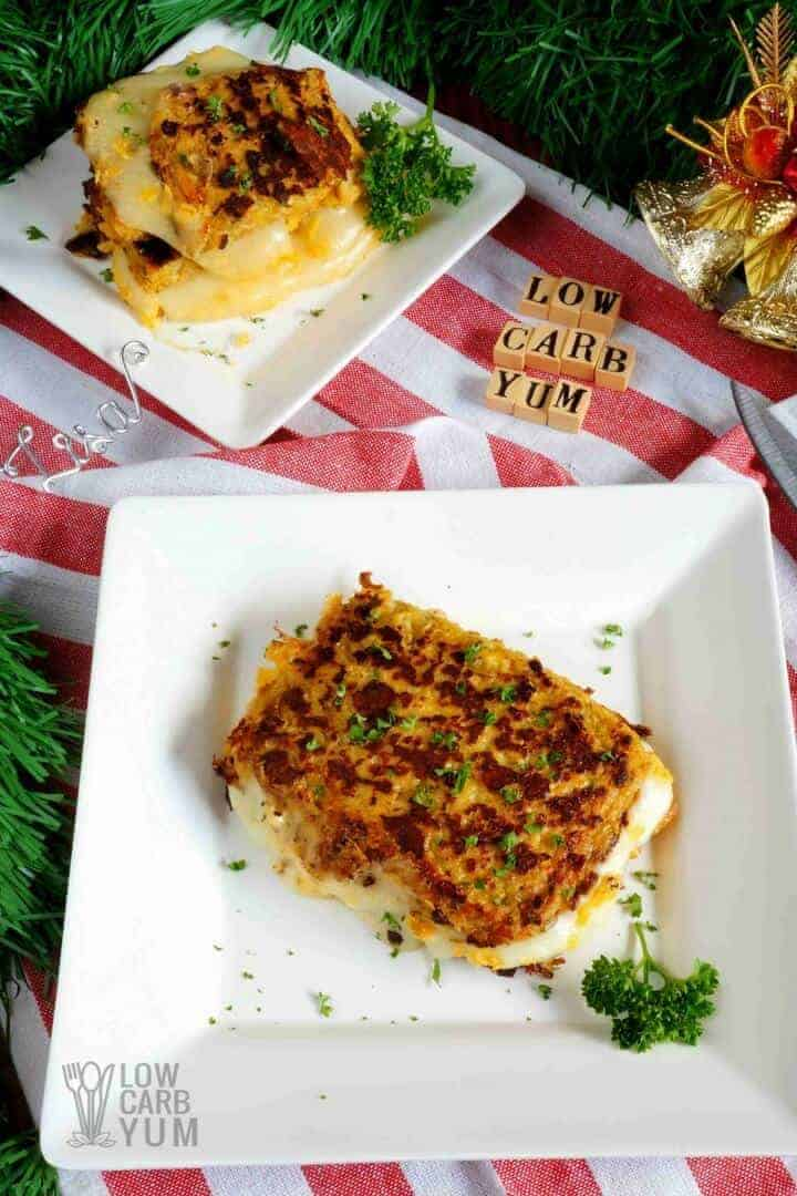 cauliflower low carb keto grilled chese