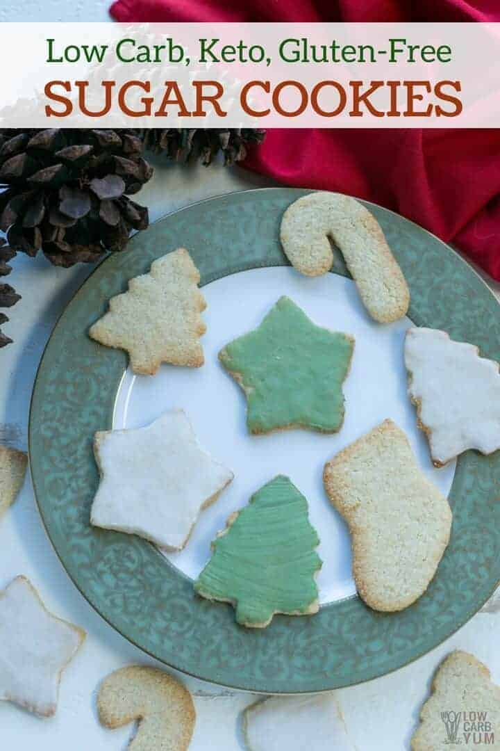 Low Carb Keto Sugar Cookies Gluten Free Low Carb Yum