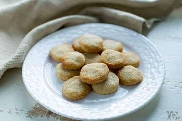 Low carb coconut flour no egg cookies