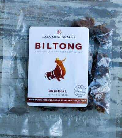 November 2017 Keto Krate Review Biltong