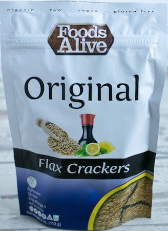 November 2017 Keto Krate Review Flax Cracker