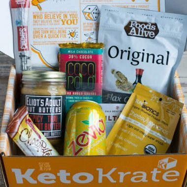 November 2017 Keto Krate Low Carb Subscription Box