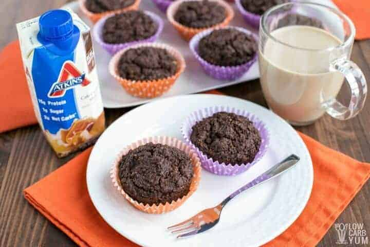 Atkins protein shake muffins recipe