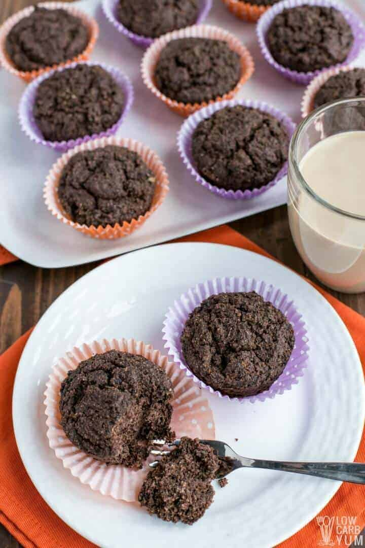 Low carb Atkins Café Caramel Shake breakfast muffins