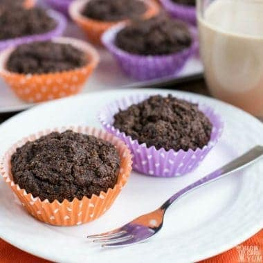 Atkins Café Caramel Shake breakfast muffins