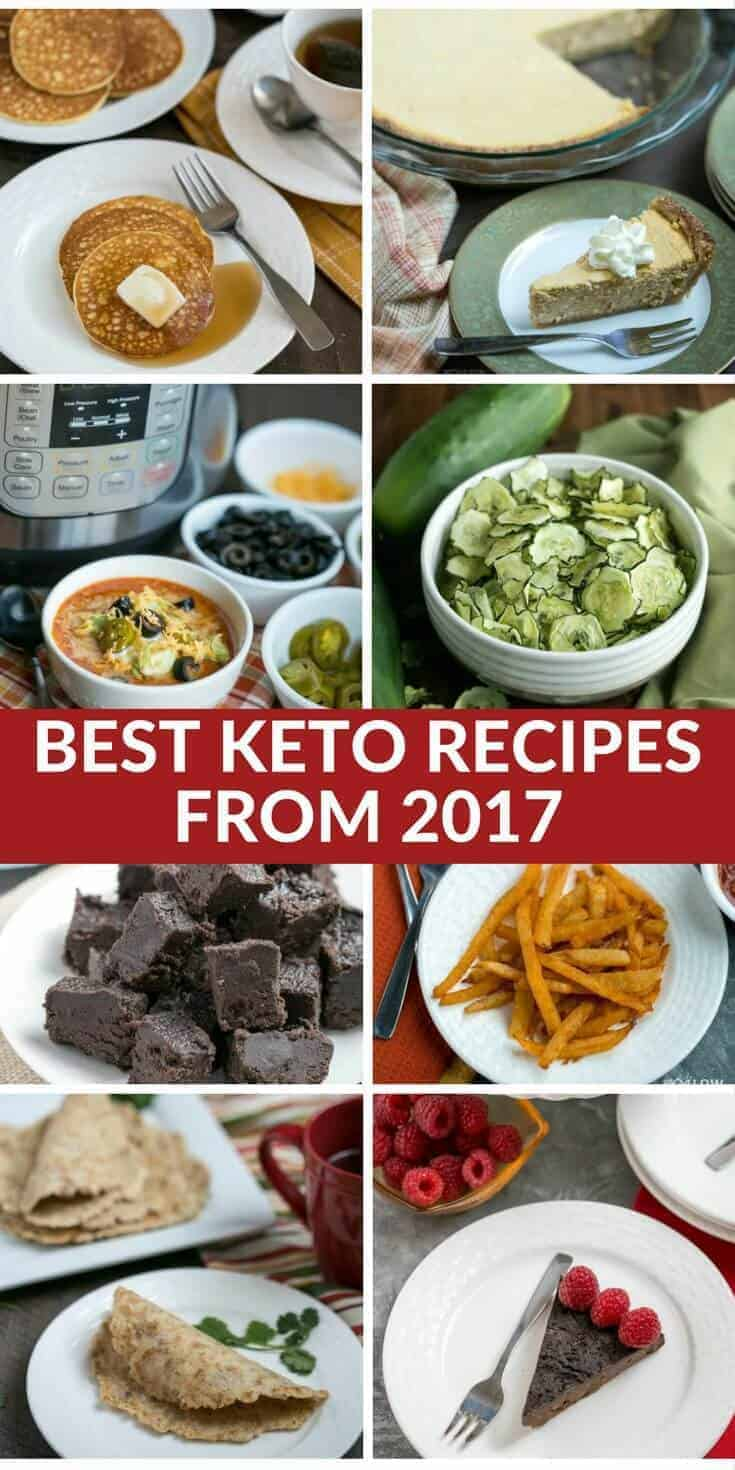 Not sure which low carb recipes to try? Here's the twenty best keto recipes posted at Low Carb Yum in 2017. Give some a taste to see why they were so popular! #keto #atkins #lowcarb #ketorecieps | LowCarbYum.com