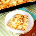 Seafood Lover's Fish Pizza with Shrimp and Scallops
