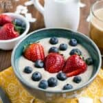 coconut low carb porridge