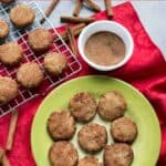 Keto low carb snickerdoodle cookies recipe