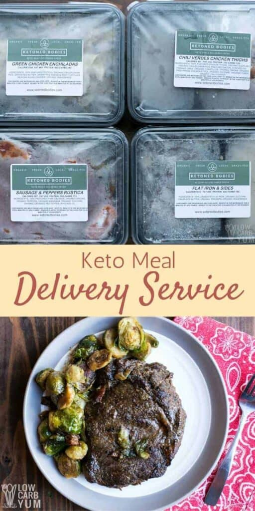 Keto meal delivery service - Ketoned Bodies