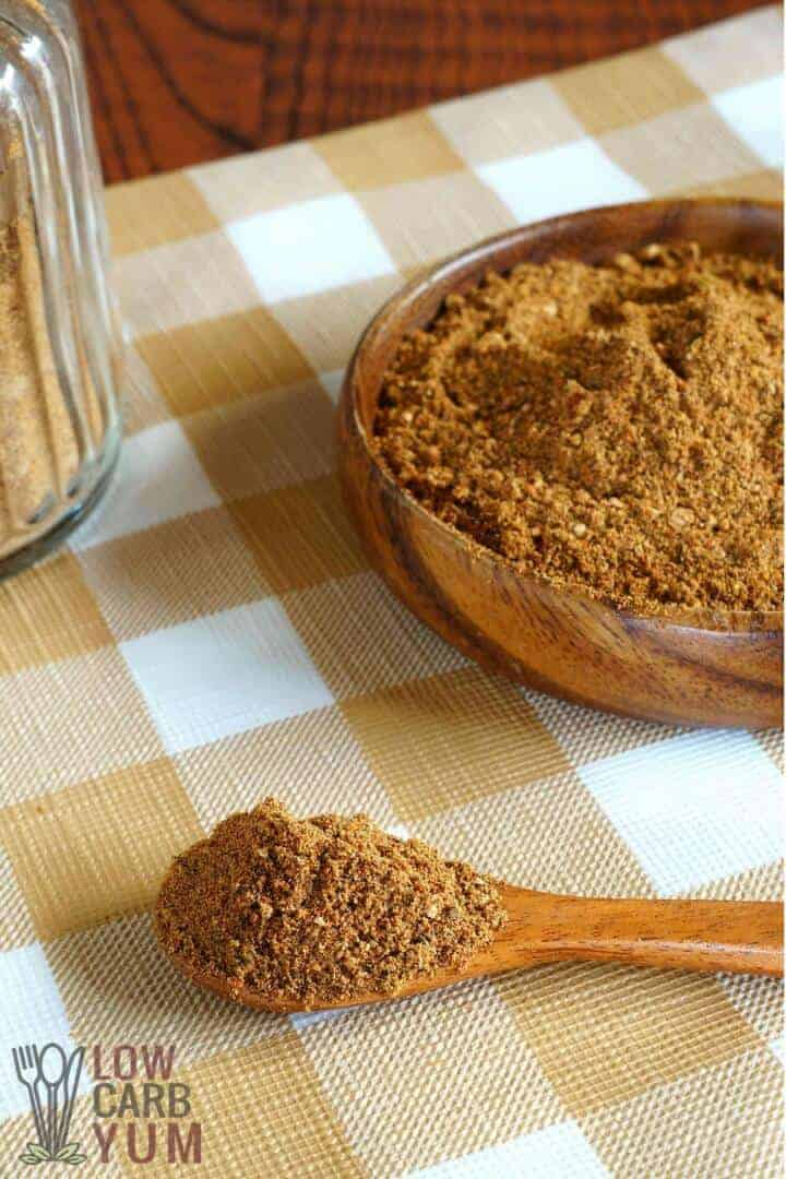 Simple low carb taco seasoning