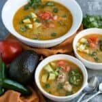 Pressure cooker low carb paleo white chicken chili