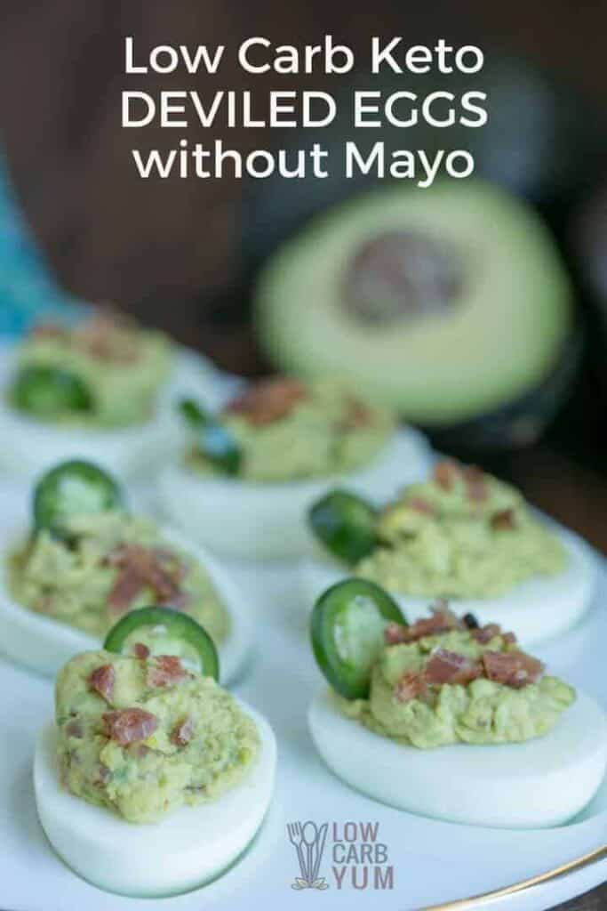 spicy keto deviled eggs without mayo