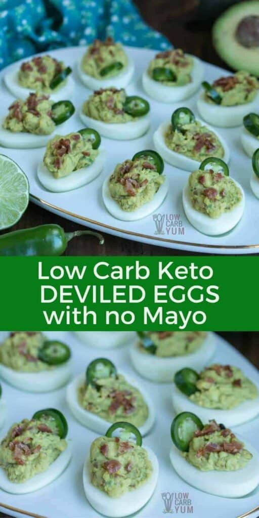 spicy keto deviled eggs without mayo recipe