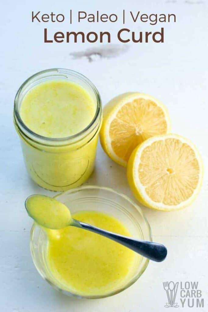 Simple vegan lemon curd recipe