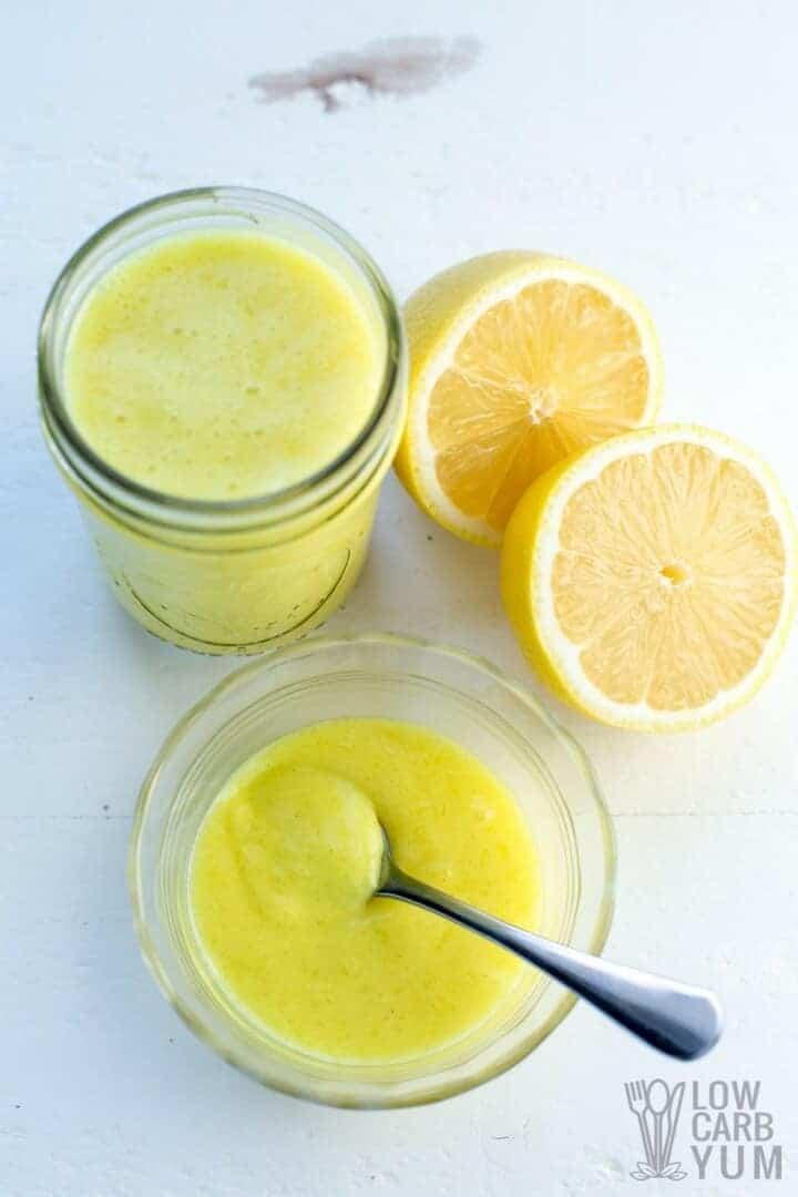 An easy to make vegan lemon curd
