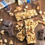 Atkins Harvest Trail Bars - Dark Chocolate Sea Salt Caramel Bars