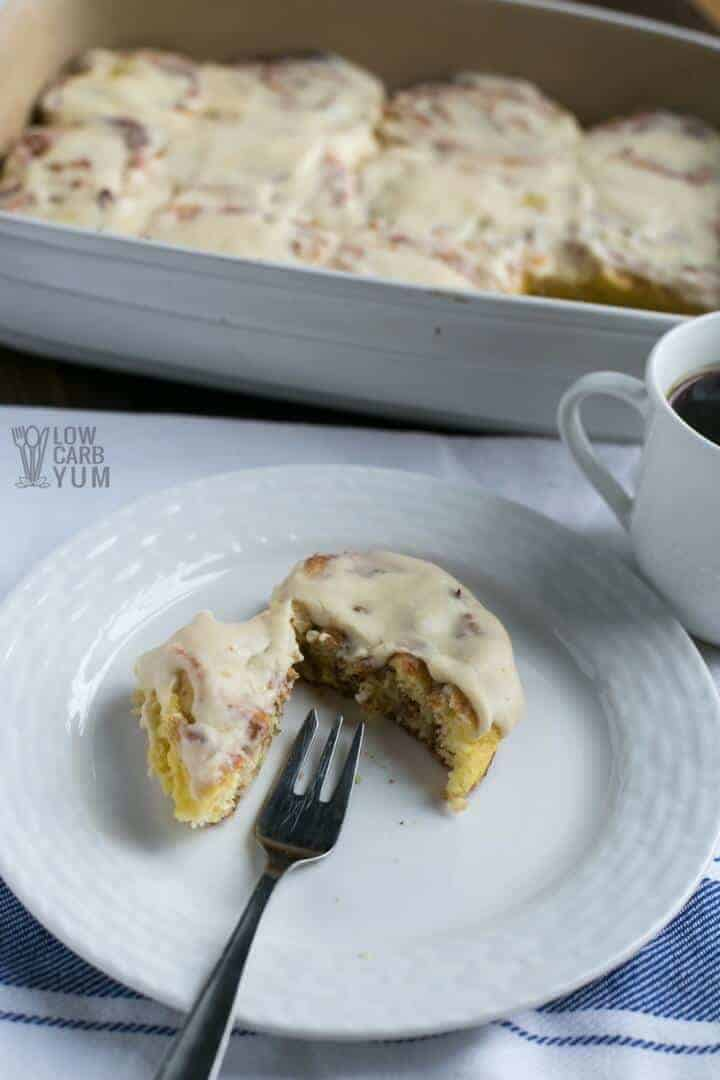 Easy fathead dough low carb keto cinnamon rolls