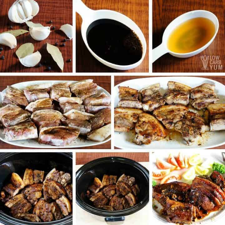 How to make Filipino pork belly adobo