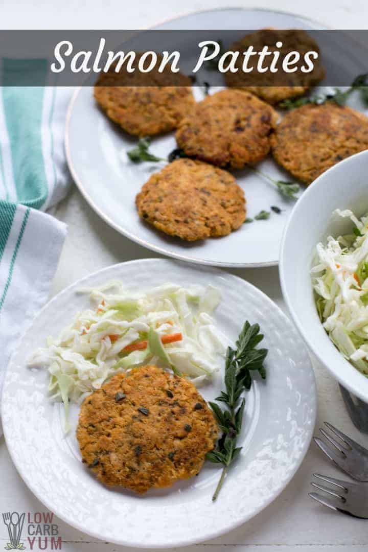Keto salmon patties recipe