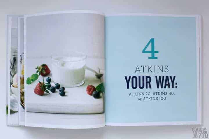 Atkins Your Way low carb lifestyle