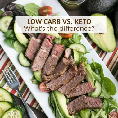Low Carb vs Keto: Is there a difference for weight loss?