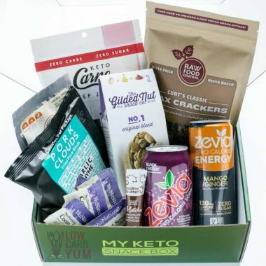 My Keto Snack Box Review and Unboxing