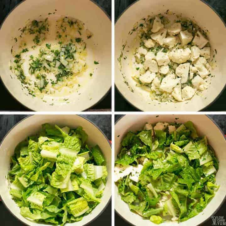How to make an easy romaine lettuce soup
