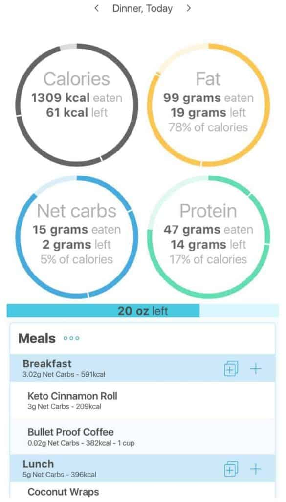 Keto Diet Tracker Carb Counter App for Ketosis