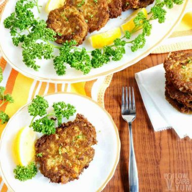 Easy Keto Crab Cakes