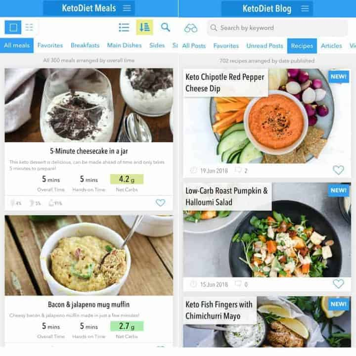 Keto Diet App Low Carb App Recipes