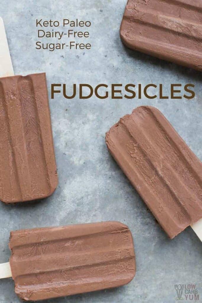 Sugar free fudgesicles fudge pops recipe