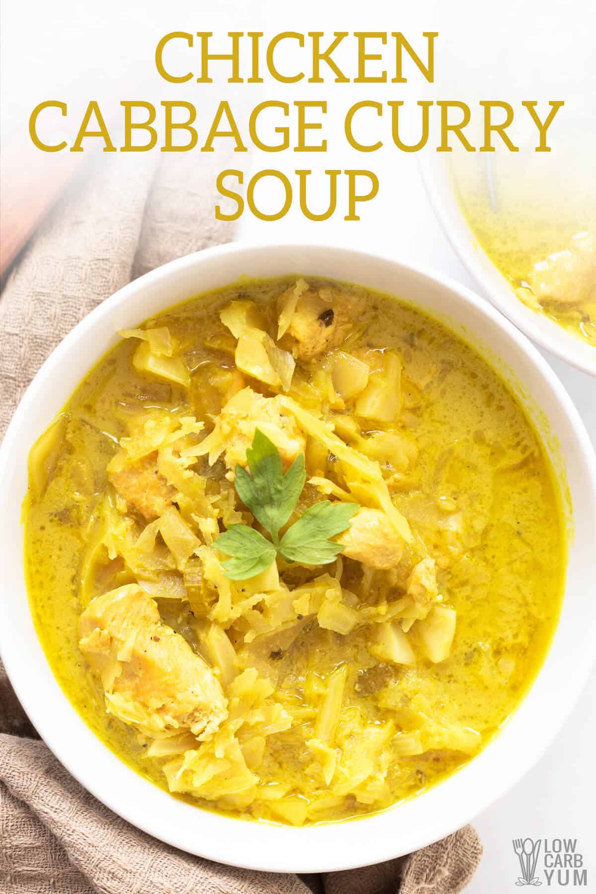 chicken and cabbage soup recipe