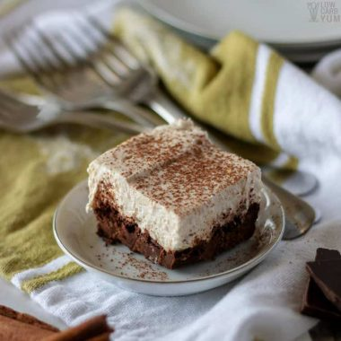Chocolate Brownie Cheesecake Squares