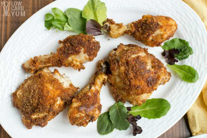 Low Carb Keto Fried Chicken In Air Fryer Or Oven Low Carb Yum