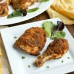 Low carb keto fried chicken air fryer pork rinds