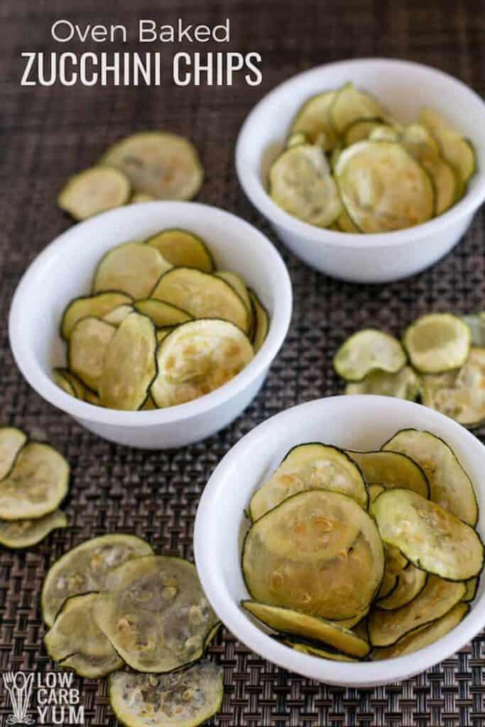 Oven baked zucchini chips (Paleo Keto) Recipe