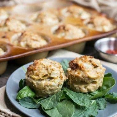 Ground Turkey Meatloaf Muffins