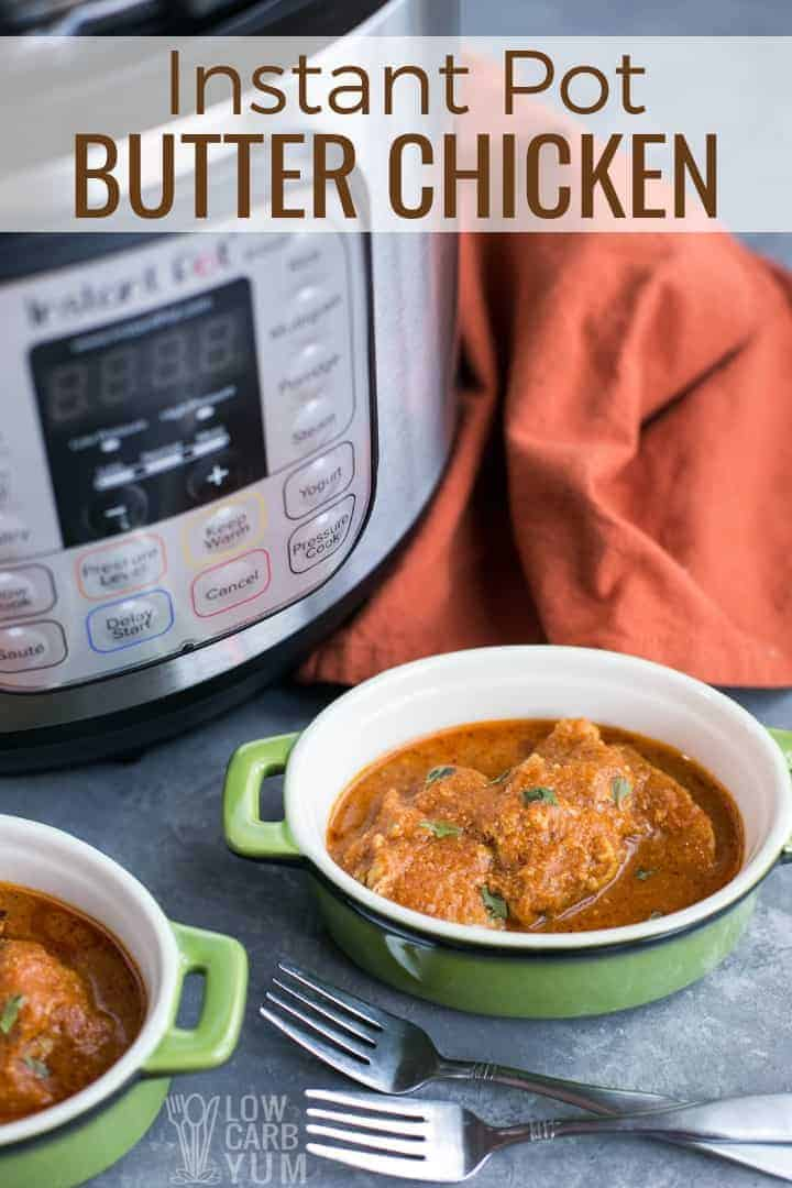 Instant pot butter chicken pressure cooker recipe
