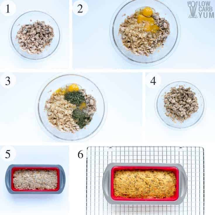 How to make a salmon loaf