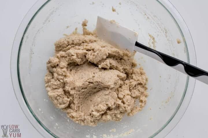 thickened dough
