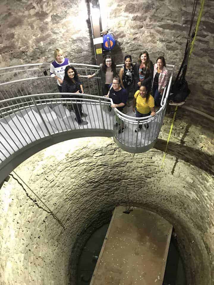 Touring the Big Well