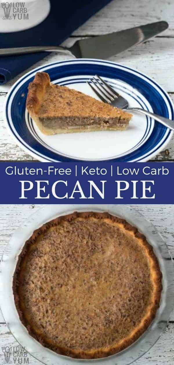 A delicious low carb pecan pie is possible if you use the right sweetener. So good, you'll want to enjoy this traditional holiday pie throughout the year.