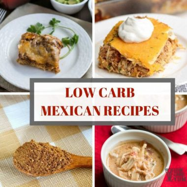Text low carb mexican recipes