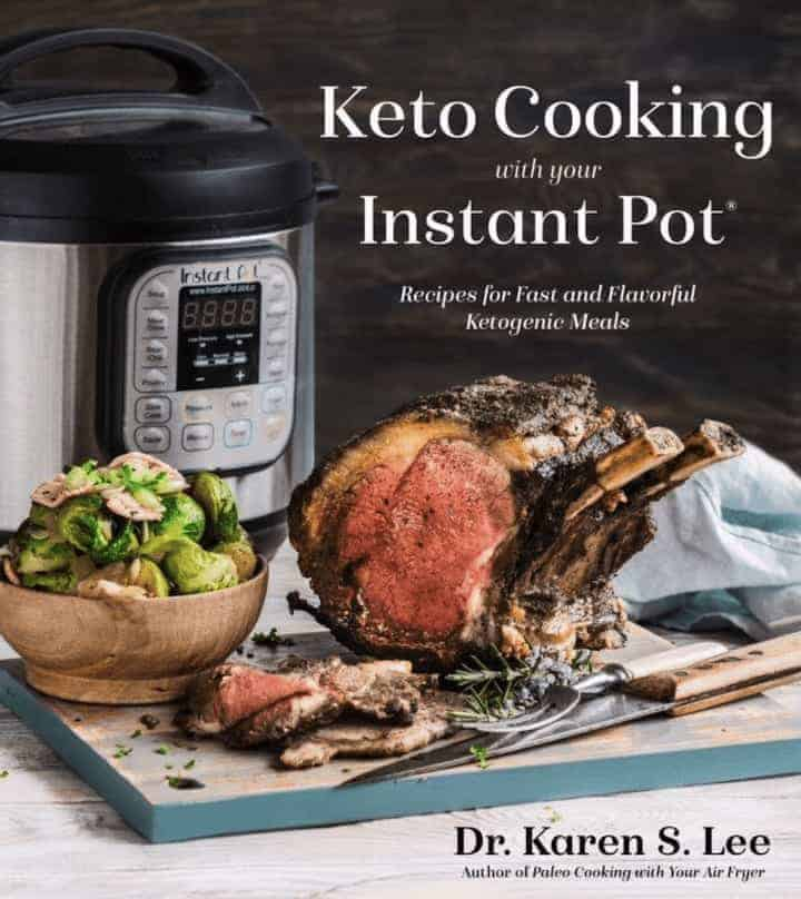 Keto Cooking with your Instant Pot front cover