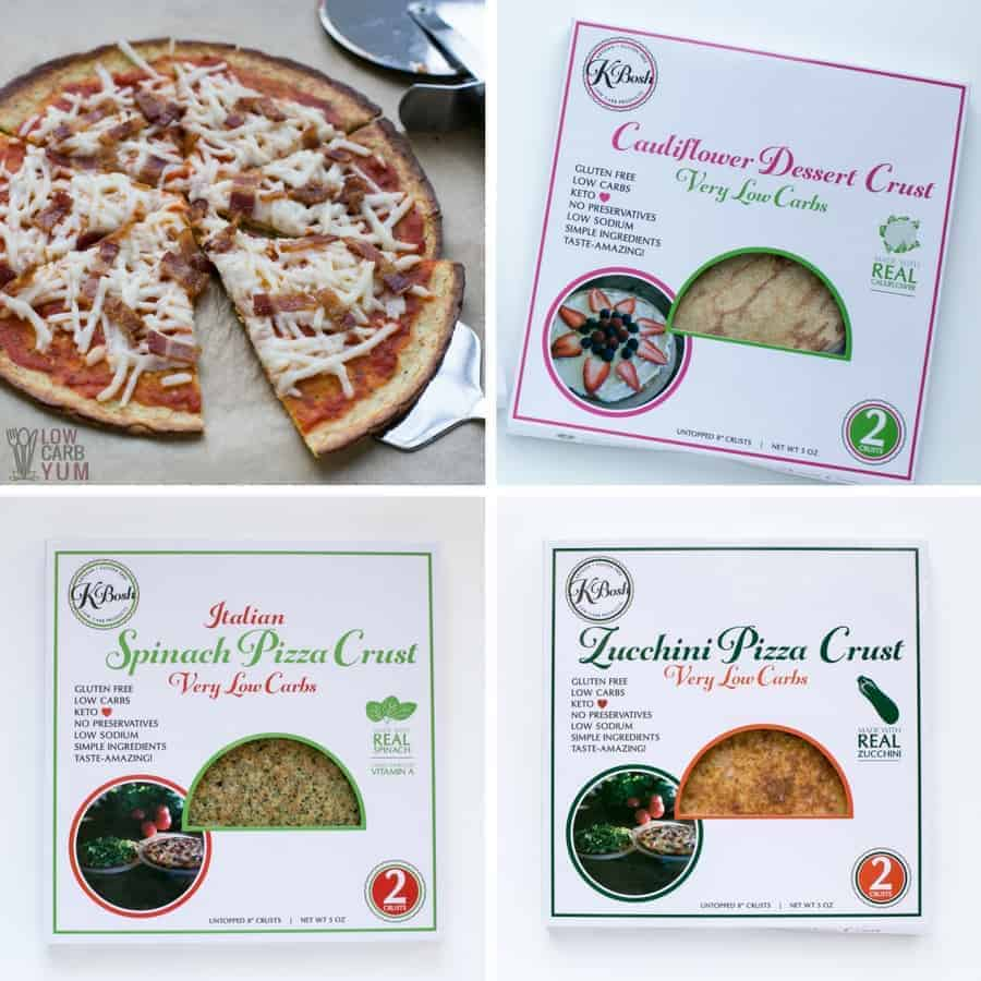 KBosh low carb pizza crusts