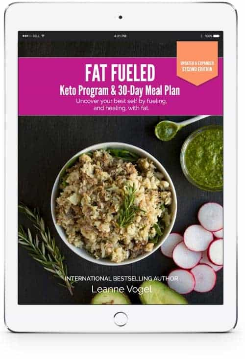Fat Fueled Keto Program and 30 Day Meal Plan E-Book