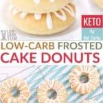 keto cake donuts