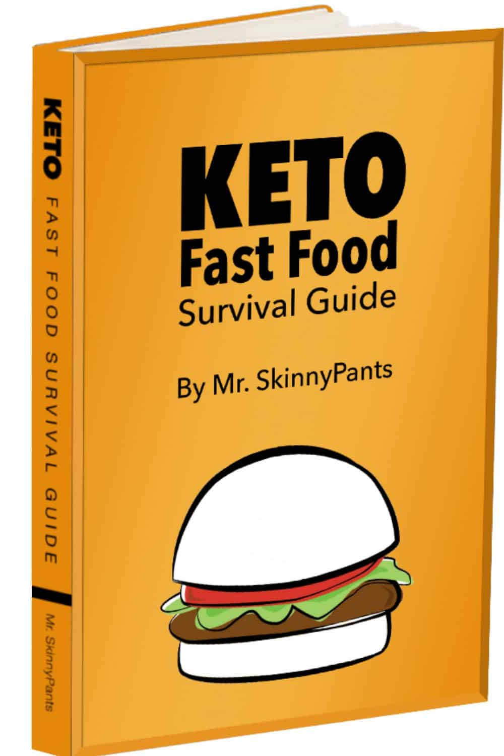 Keto Fast Food Survival Guide Book